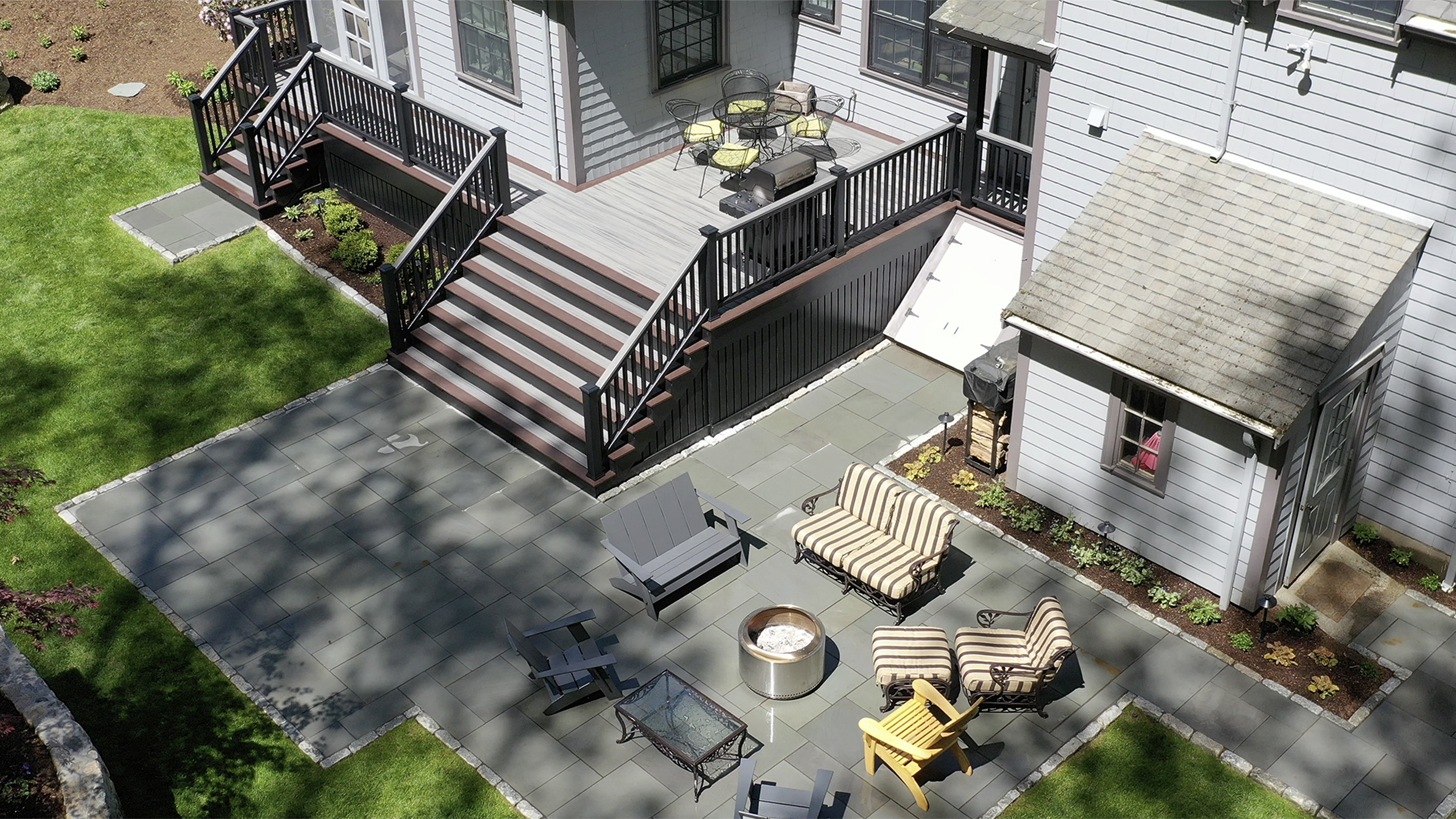 landscape construction wellesley ma