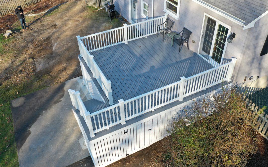 0314: Deck Construction Stoughton, MA