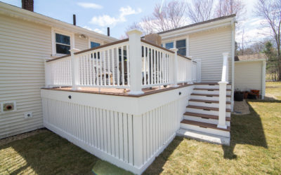 0332: New Deck and Yard Drainage Installation | Canton, MA